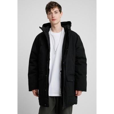 カーハート コート メンズ アウター TROPPER - Winter coat - black