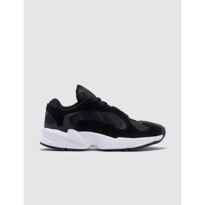 アディダス Adidas Originals レディース スニーカー シューズ・靴 Yung-1 Core Black/Core Black/Cloud White