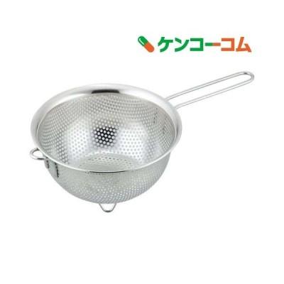 スイグート スタッキングパンチング片手ざる 14cm SUI-6031 ( 1個入 )