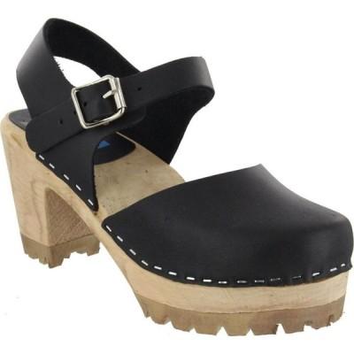 ミア MIA レディース クロッグ シューズ・靴 Abba Clogs Black