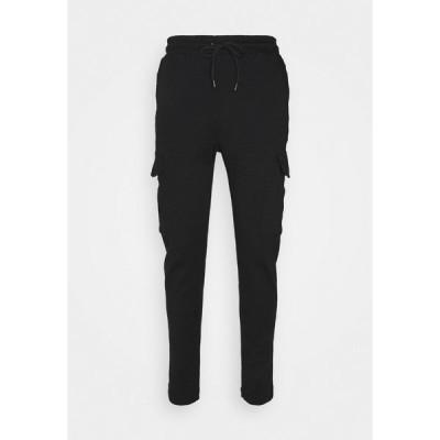 ブレーブソウル カジュアルパンツ メンズ ボトムス ROCKERPLAIN - Cargo trousers - black