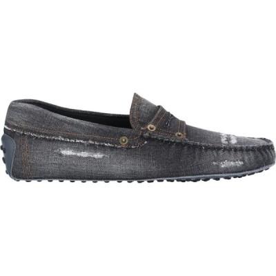 トッズ TOD'S メンズ ローファー シューズ・靴 loafers Steel grey