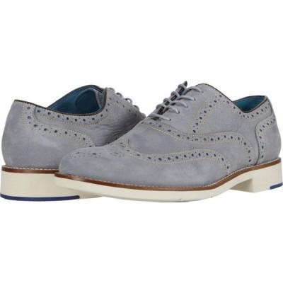 ジョンストン&マーフィー Johnston & Murphy メンズ 革靴・ビジネスシューズ ウイングチップ シューズ・靴 Watkins Wing Tip Light Gray Nubuck