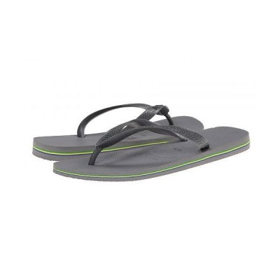 Havaianas ハワイアナス メンズ 男性用 シューズ 靴 サンダル Brazil Flip Flops - Steel Grey