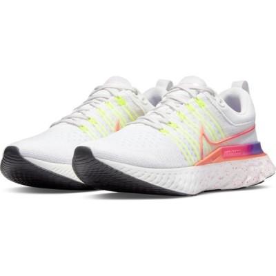 ナイキ NIKE レディース ランニング・ウォーキング シューズ・靴 React Infinity Run Flyknit 2 Running Shoe Platinum/Mango/Pink