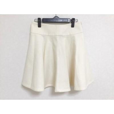 ボディドレッシングデラックス BODY DRESSING Deluxe スカート サイズ36 S レディース 美品 アイボリー【還元祭対象】【中古】