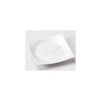 和食器白湧水5.5正角皿/大きさ・17.3×3cm