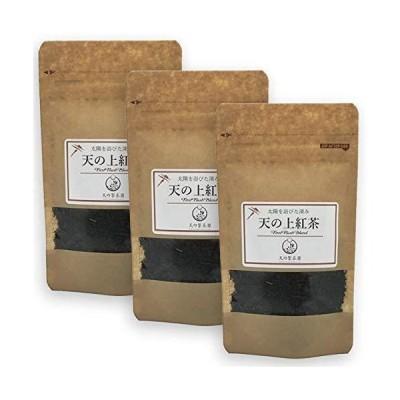 天の製茶園 天の上紅茶 リーフ 30g×3袋セット 水俣 熊本 国産 無農薬