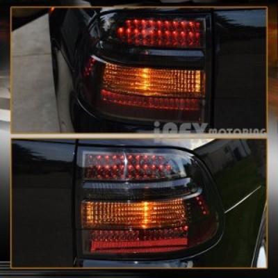 テールライト 2003  -  2006年ポルシェカイエンンBRIGHTEST LEDテールライトブレーキランプSMOKE For