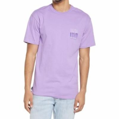 ヴァンズ VANS メンズ Tシャツ ロゴTシャツ トップス Off The Wall Classic Logo Graphic Tee English Lavender