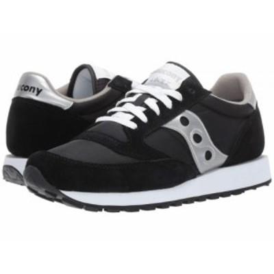 Saucony Originals サッカニー メンズ 男性用 シューズ 靴 スニーカー 運動靴 Jazz Original Black/Silver【送料無料】