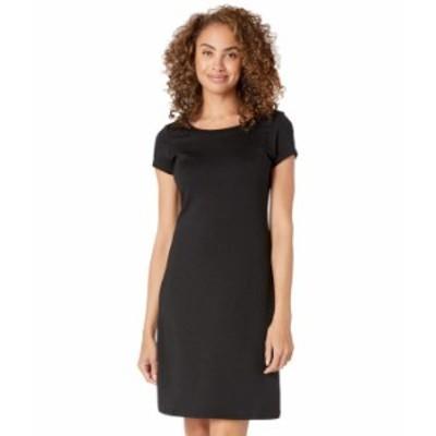 トッミーバハマ レディース ワンピース トップス Drapey Ponte Short Sleeve Short Dress Black