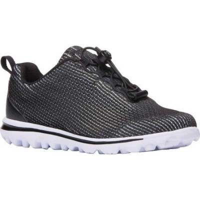 プロペット Propet レディース ランニング・ウォーキング スニーカー シューズ・靴 TravelActiv Xpress Sneaker Black/White