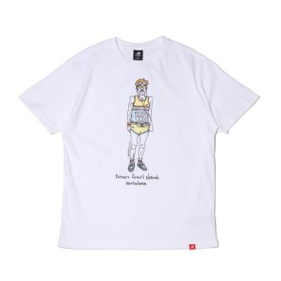 ニューバランス New Balance 半袖Tシャツ MT11543 (WHITE) 21SS-I