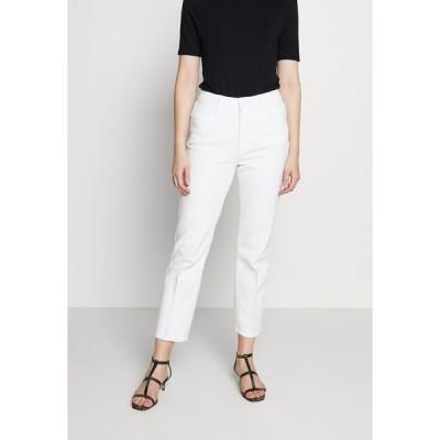 グッドアメリカン デニムパンツ レディース ボトムス GOOD CURVE  - Straight leg jeans - white