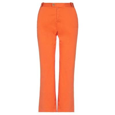 BARBA Napoli パンツ オレンジ 42 コットン 98% / ポリウレタン 2% パンツ