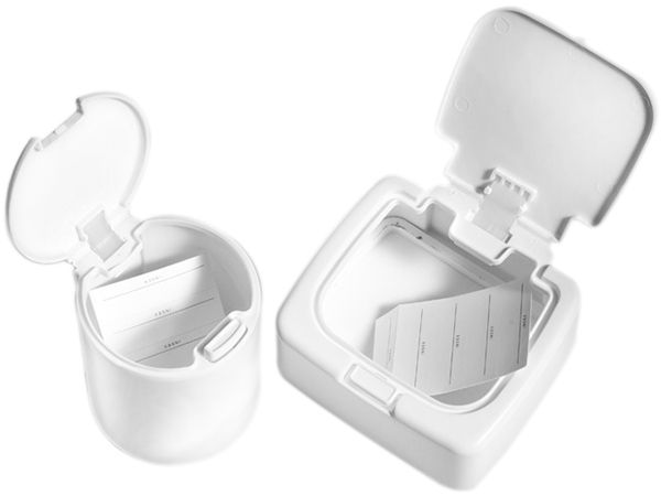 多功能彈跳式迷你收納盒(1入) 圓形/方形 款式可選【DS001292】