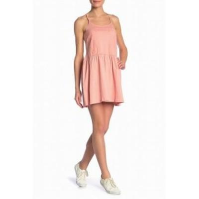 Roxy ロキシー ファッション ドレス Roxy NEW Pink Womens Size Medium M Tonal Embroidered A-Line Dress