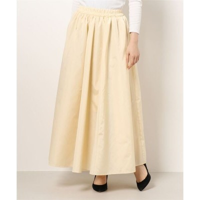 スカート タフタマキシスカート