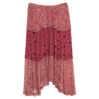 BA&SH ひざ丈スカート ガーネット 2 レーヨン 100% ひざ丈スカート