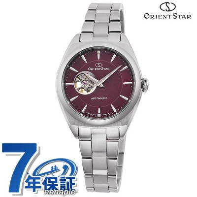 13日は+15倍でポイント最大25倍 オリエントスター 腕時計 コンテンポラリー セミスケルトン 自動巻き レディース 時計 RK-ND0102R ORIENT STAR