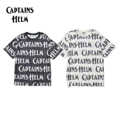 CAPTAINS HELM/キャプテンズヘルム #SURFING MESH TEE/メッシュTシャツ・2color