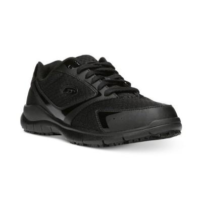 ドクター・ショール スリッポン・ローファー シューズ レディース Women's Inhale Slip-Resistant Sneakers with Memory Foam Black