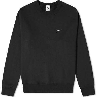 ナイキ Nike メンズ スウェット・トレーナー トップス NRG Premium Essential Sweat Black/White