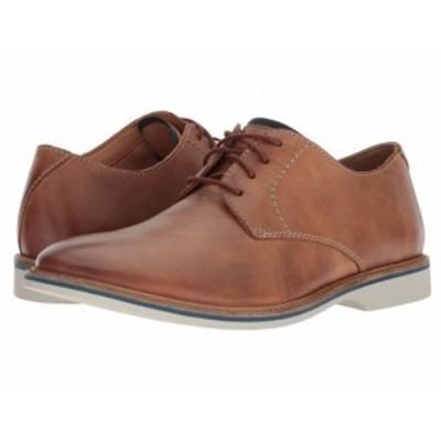 Clarks クラークス メンズ 男性用 シューズ 靴 オックスフォード 紳士靴 通勤靴 Atticus Lace Tan Leather【送料無料】