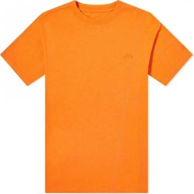 アコールドウォール A-COLD-WALL* メンズ Tシャツ ロゴTシャツ トップス essential tonal logo tee Puffin Orange