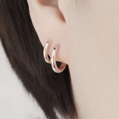 ピースプラナ](s021)925ミニワンタッチリングピアス5種韓国デザインブランドの新商品