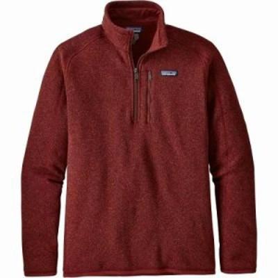 パタゴニア フリース Better Sweater 1/4 Zip Fleece Pullover Oxide Red