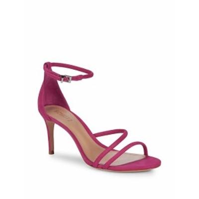 シュッツ レディース シューズ サンダル Jenina Leather Ankle-Strap Sandals