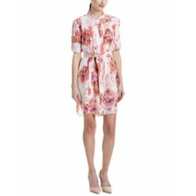 Magaschoni  ファッション ドレス Magaschoni Silk Shirtdress 4