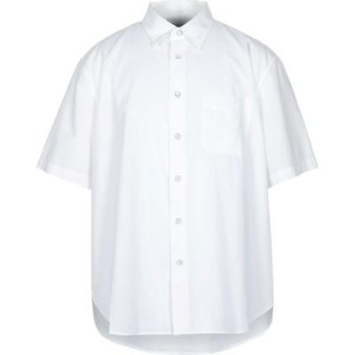 ラグ&ボーン RAG & BONE メンズ シャツ トップス solid color shirt White