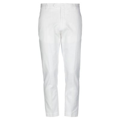 SANTANIELLO パンツ ホワイト 48 コットン 99% / ポリウレタン 1% パンツ