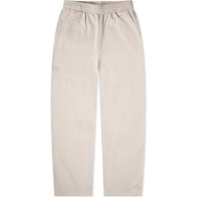 バレンシアガ Balenciaga メンズ スウェット・ジャージ ワイドパンツ ボトムス・パンツ Baggy Sweat Pant Cement Grey