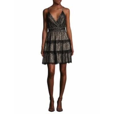 アリス+オリビア レディース ワンピース Olive Lace Fit And Flare Dress