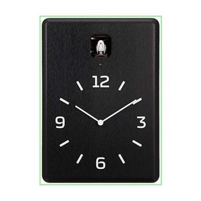 Lemnos Men's Cucu Cuckoo Clock, Black, One Size 並行輸入品