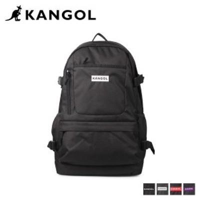 カンゴール KANGOL リュック バッグ バックパック メンズ レディース 24L BURST D BAG ブラック ホワイト レッド パープル 黒 白 250-150