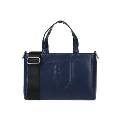 トラサルディ ジーンズ TRUSSARDI JEANS ハンドバッグ ダークブルー ポリエステル 100% / ポリウレタン樹脂 ハンドバッグ