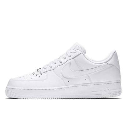 ナイキ エア フォース1 07 ロー ホワイト 25cm Nike Air Force 1 07 Low White Womens 315115-112 安心の本物鑑定