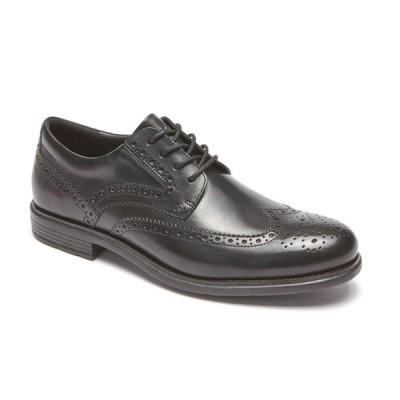 セール ロックポート 靴 メンズ CG7234 トータルモーション クラシックドレス ウィングチップ ブラック