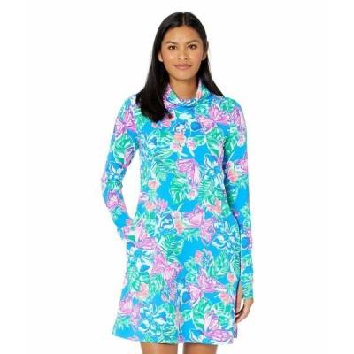 リリーピュリッツァー ワンピース トップス レディース Lilshield UPF 50+ Dress Pundy Blue Isle Be Back