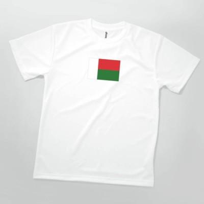 Tシャツ マダガスカル共和国 国旗
