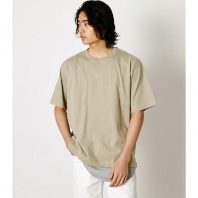 LAYERED SET TEE/レイヤードセットTシャツ /メンズ/トップス カットソー  ノースリーブ  半袖【MARKDOWN】