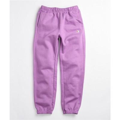 チャンピオン CHAMPION レディース スウェット・ジャージ ボトムス・パンツ Champion Reverse Weave Lavender Sweatpants Purple