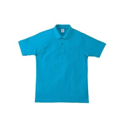 ボンマックス ポケットツキ_CVCカノコドライポロシャツ (MS3114) 色 : ターコイズ サイズ : GS