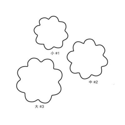 たかもりの生抜 菊の花 3PC