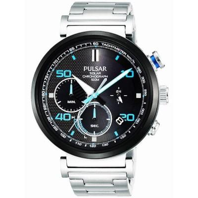 セイコー SEIKO パルサー PULSAR ソーラークロノグラフ腕時計 PZ5065X1
